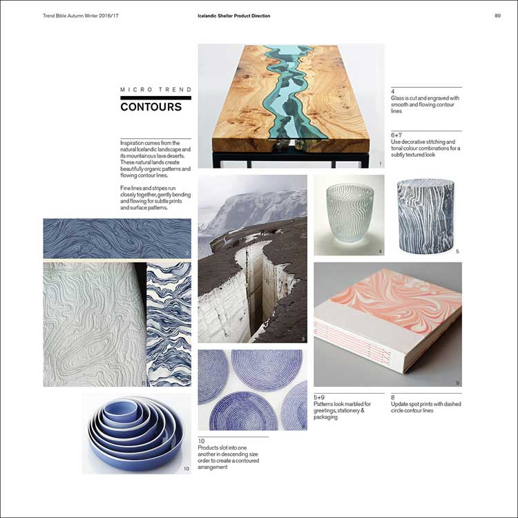 Trend bible home and interior trends a w 2016 2017 mode information ltd fashion trend - Interior design color trends in ...