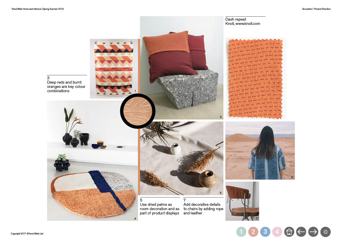 Trend Bible Home & Interior Trends S/S 2019 | mode   information ltd